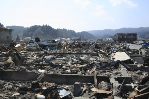 The Tohoku earthquake is estimated to have killed 18,500 people and made over 450,000 homeless. yanhane/Shutterstock